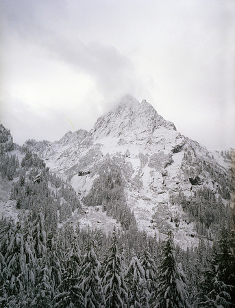 Near Sloan Peak - November '03