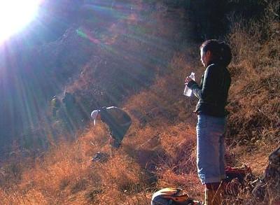 hiking around beijing