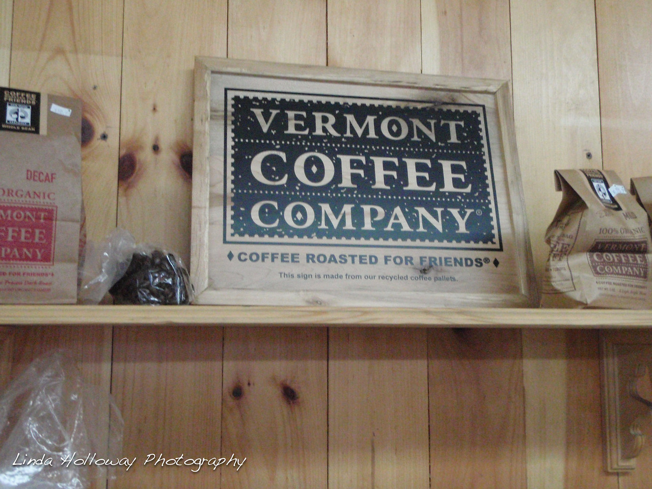 I was drinking Vermont Coffee.