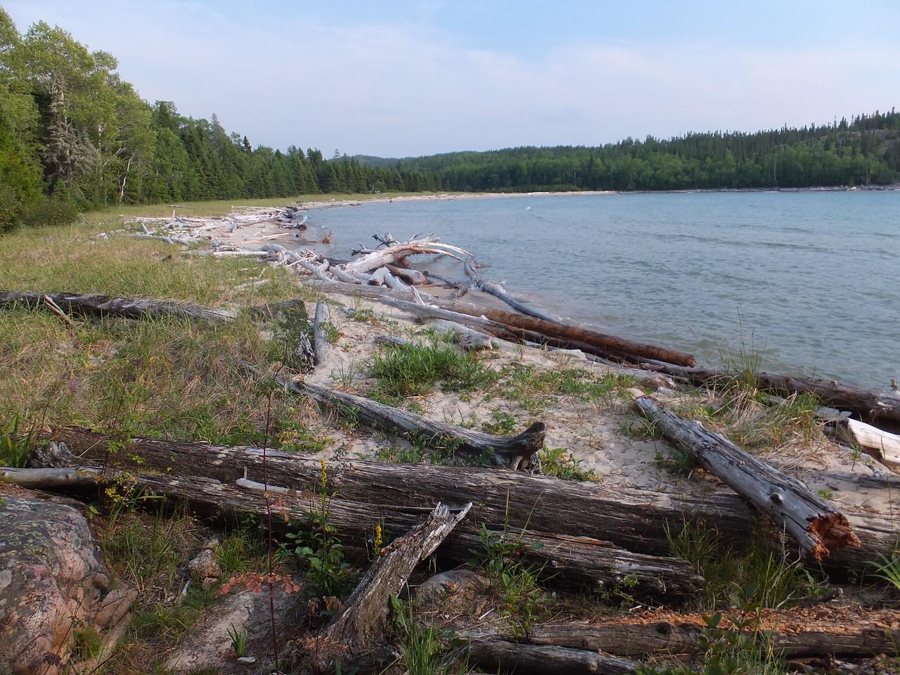 Willow River beach