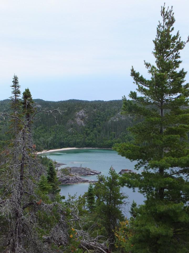 Above Fisherman's Cove