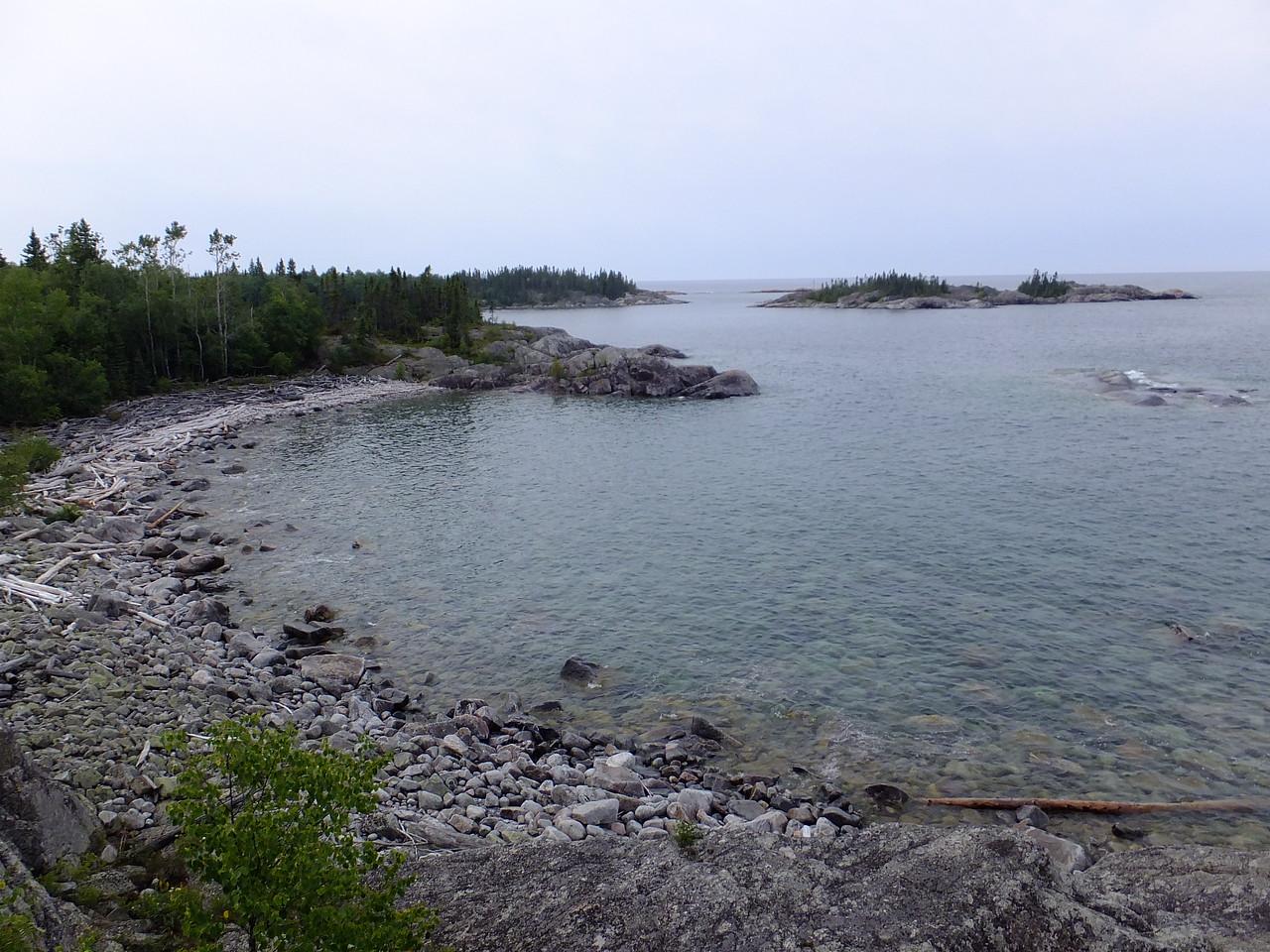Typical coastline