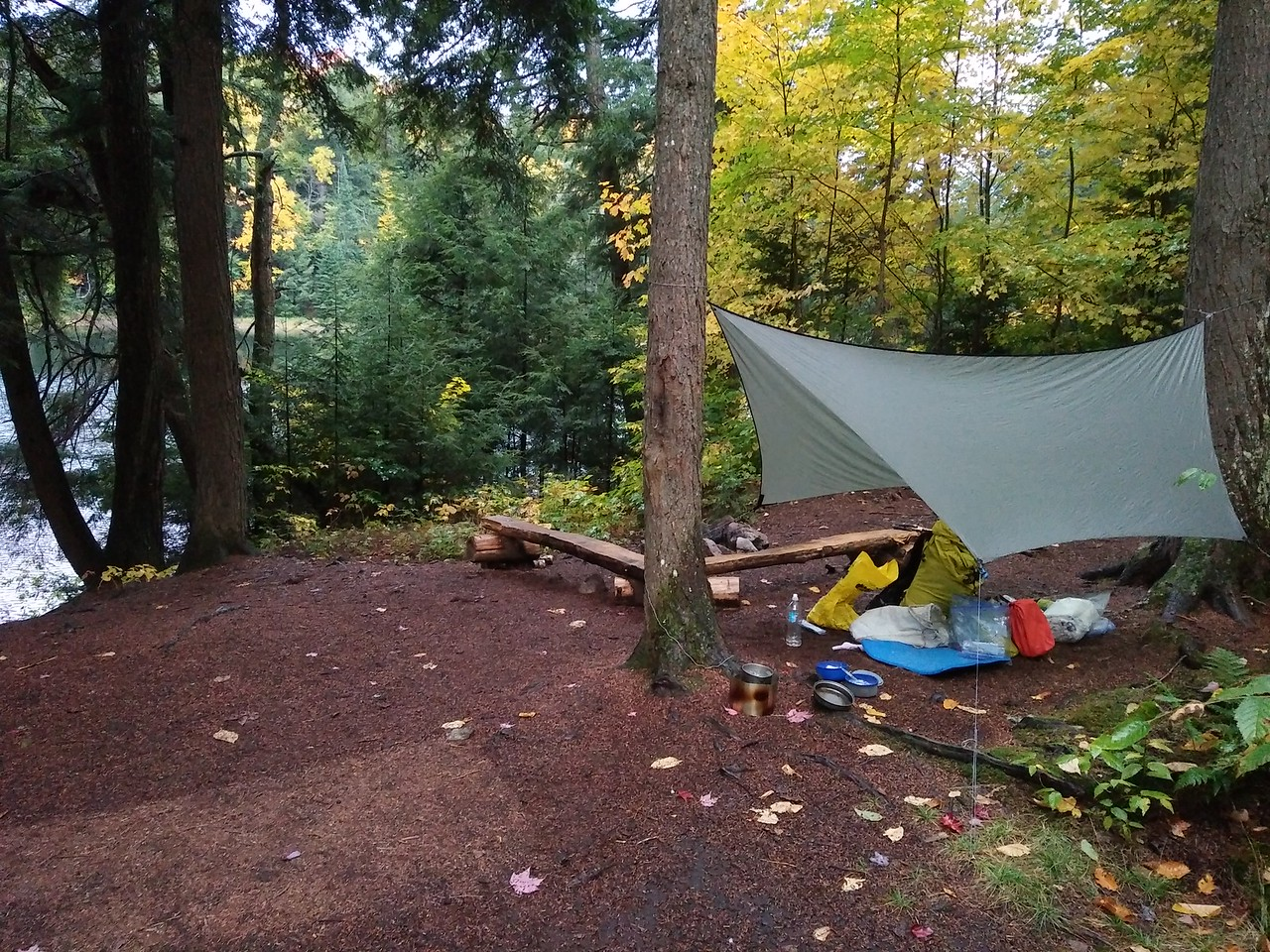 Steeprise Lake campsite