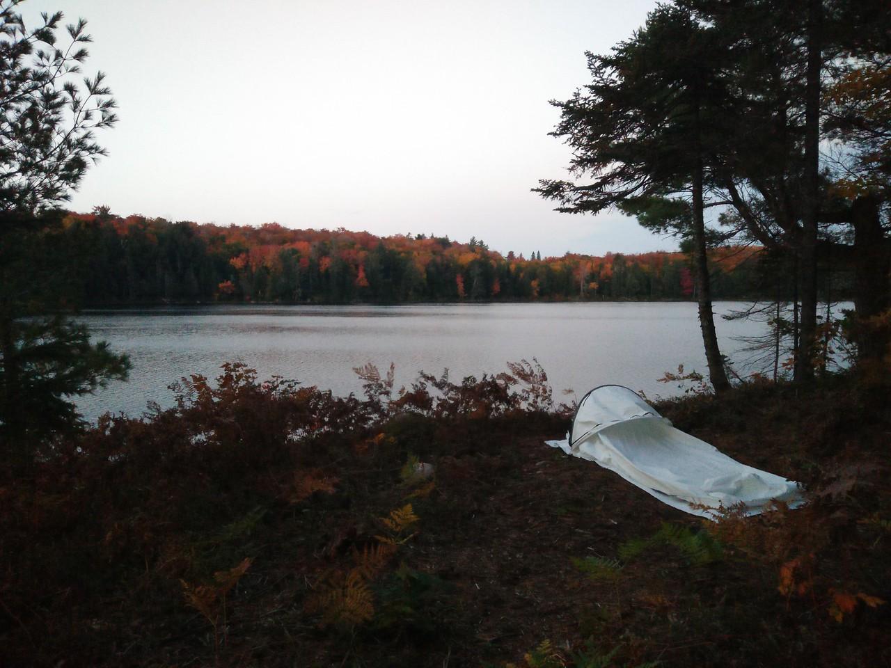 Clara Lake tentpad