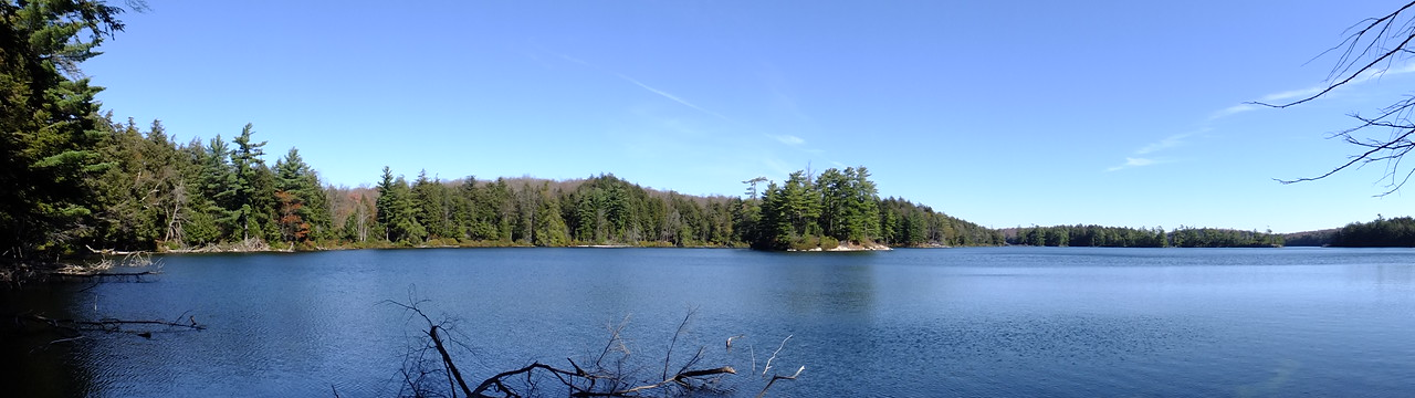 Walked around Maggie Lake. This is the view from one of the western campsites.