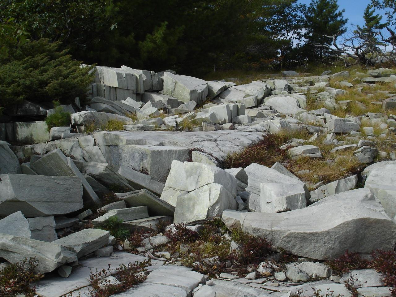 Quartzite Blocks