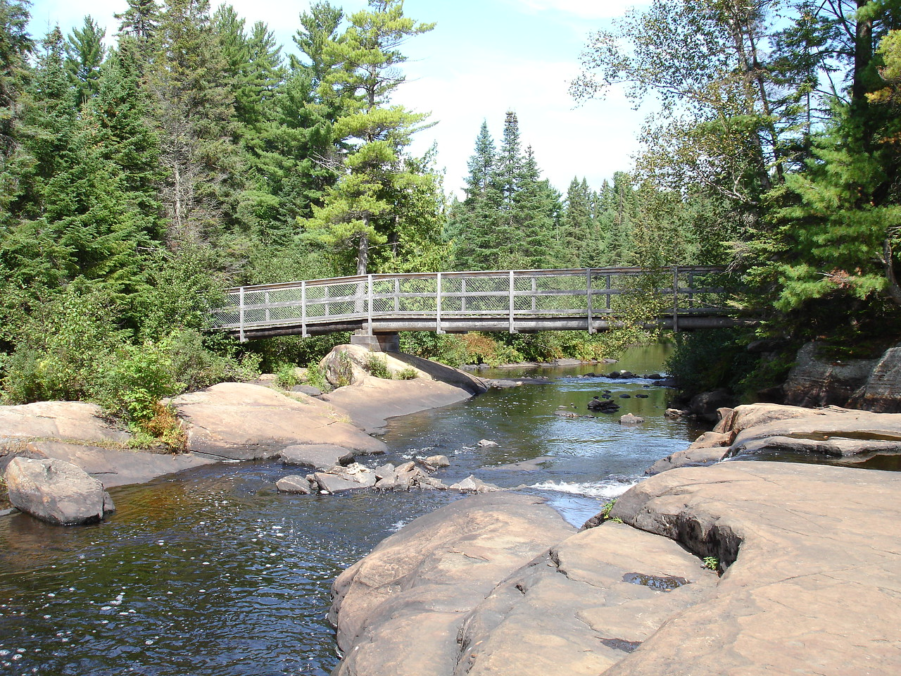 Bridge over the Madawaska