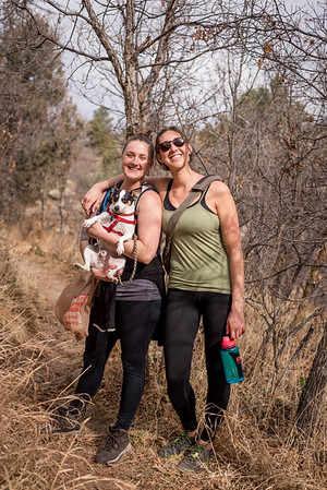 03.20.17_Mitchell Creek Canyon Hike- Madelaine and Lexi