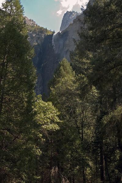 Bridalveil Falls- nearly dry!