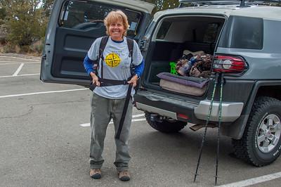 10-21-2014 Hiking La Luz Trail with Cindy