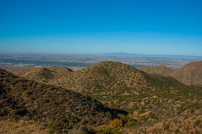 10-24-2014 Coreda, Michelle, and I hiking La Luz