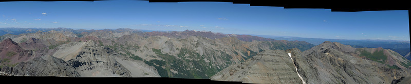 Castle Peak Panorama 1
