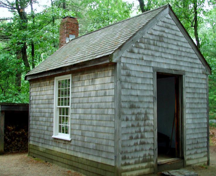 Thoreau's home at Walden Pond (replica)