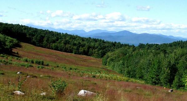 Foss Mountain - true and popular summits (Aug. 31)