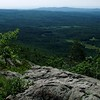 Looking south from Bald Knob summit ledge - Moose Mt.