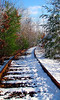 North to the Middlesex Canal, by old rail
