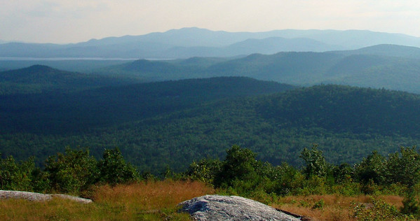 Blueberry  Views - Foss, Sheep's Nose, Larcom Ledge and Nickerson (July 18-19)