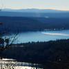 West end of Merrymeeting Lake, from south summit ledges.