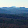 Kearsarge, 36 miles to WSW.  Southern Belknaps to the right.