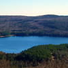 East end of Merrymeeting Lake, from south summit ledges.