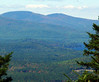 From the main summit: looking W to Belknap and Gunstock.