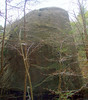 Big Agassiz Rock - the far side