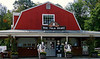 Whittier Farms Milk Store in West Sutton - an oasis on a warm afternoon.