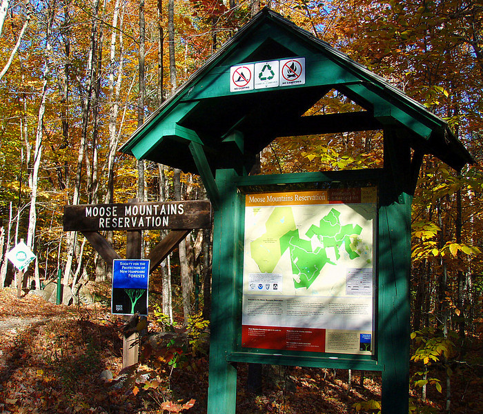 Moose Mtn. Trailhead - New Portsmouth Road