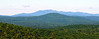 From Picket to the WNW - looking over Province Mtn. to Mt. Shaw and the Ossipee Range.