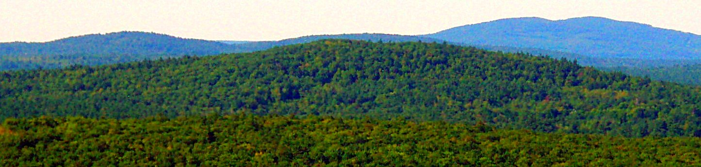 Picket and Bond Mtns., Newfield, ME (Sept. 6)