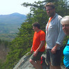 "Kearsarge, this time from the ""View-Rest"" ledge between the main summits."
