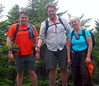 Steve, Russ and Karen atop Ragged's highest summit (x2266).