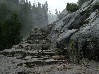 Vernal Fall and the Mist Trail
