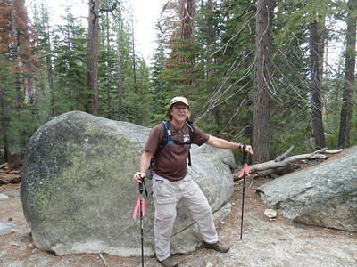 Location where Chris met the bear about ten years ago.  Picture  here