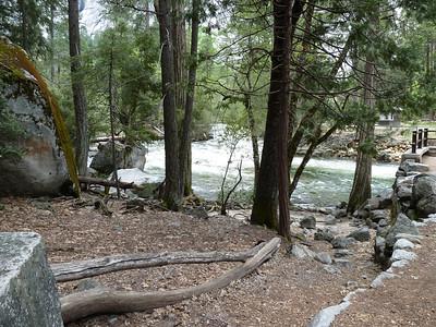 River at Happy Isles