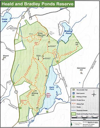 2011 Amos Mtn & Flat Hill. Heald & Bradley Ponds Reserve