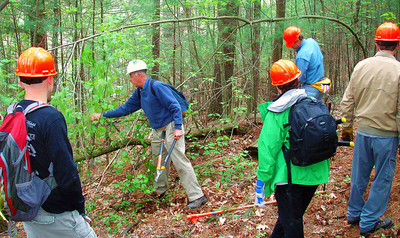 BCT - Clearing trail in Medfield (May 22)