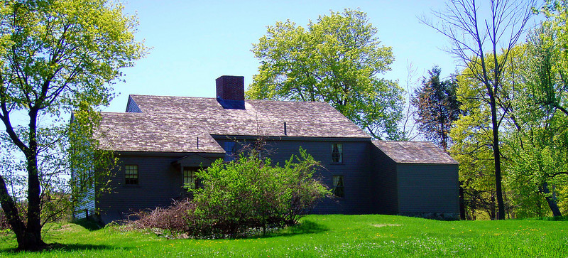 Rear of S. Brooks House, near Brooks Hill skirmish