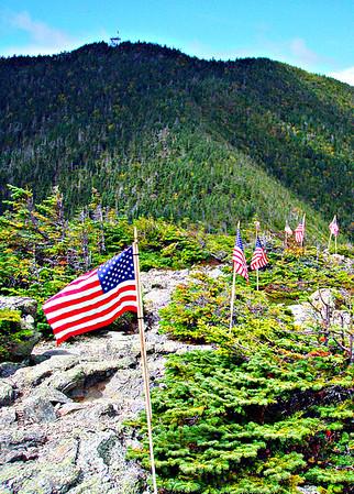 Flags on the 48 - Carrigain (September 11, 2011)