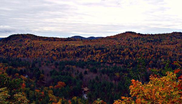 Ossipee Rim Trail - Rattlesnake to Grant Peak (October 22)