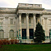 Marble House - street view.