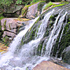 Katahdin Stream Falls - a treat for the senses after the hot boulder fields.