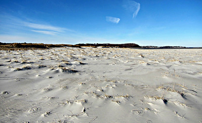 Crane Beach and Castle Hill (December 24)