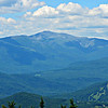 Mt. Washington, to the NW.  Black Mtn. ski trails in right foreground.