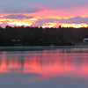 Danforth Pond Sunset - Take 2