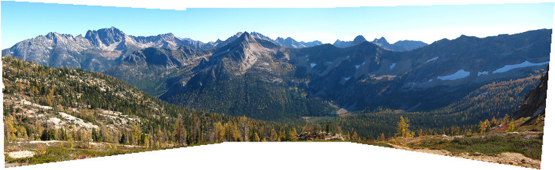 Cutthroat Pass Panorama