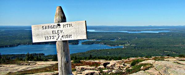 Acadia - Jordan Cliffs and Sargent Mtn. (Sept. 19)