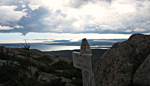 Acadia NP - Penobscot, the Bubbles and Pemetic (Sept. 16)