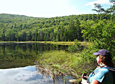 Hubbard Brook, Three Ponds and Mt. Kineo Trails (September 1)