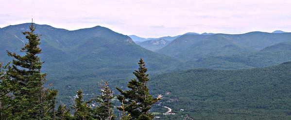 Noon Peak, Jennings Peak and Fletchers Cascade (June 22)